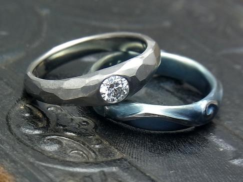 チタンダイヤモンドリング